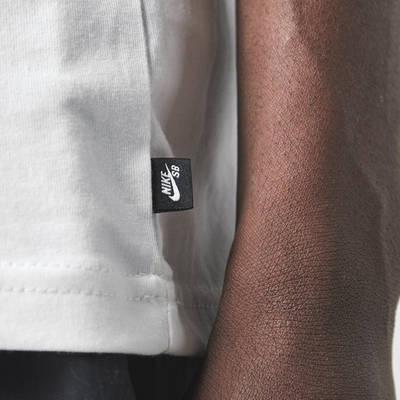 Nike SB T-Shirt White Detail 3