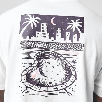 Nike SB T-Shirt White Detail