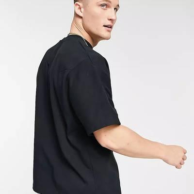 Nike Tech Fleece Sweat T-shirt Black Back