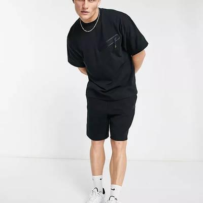 Nike Tech Fleece Sweat T-shirt Black Full