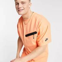 Nike Tech Fleece Sweat T-shirt Dusty Orange