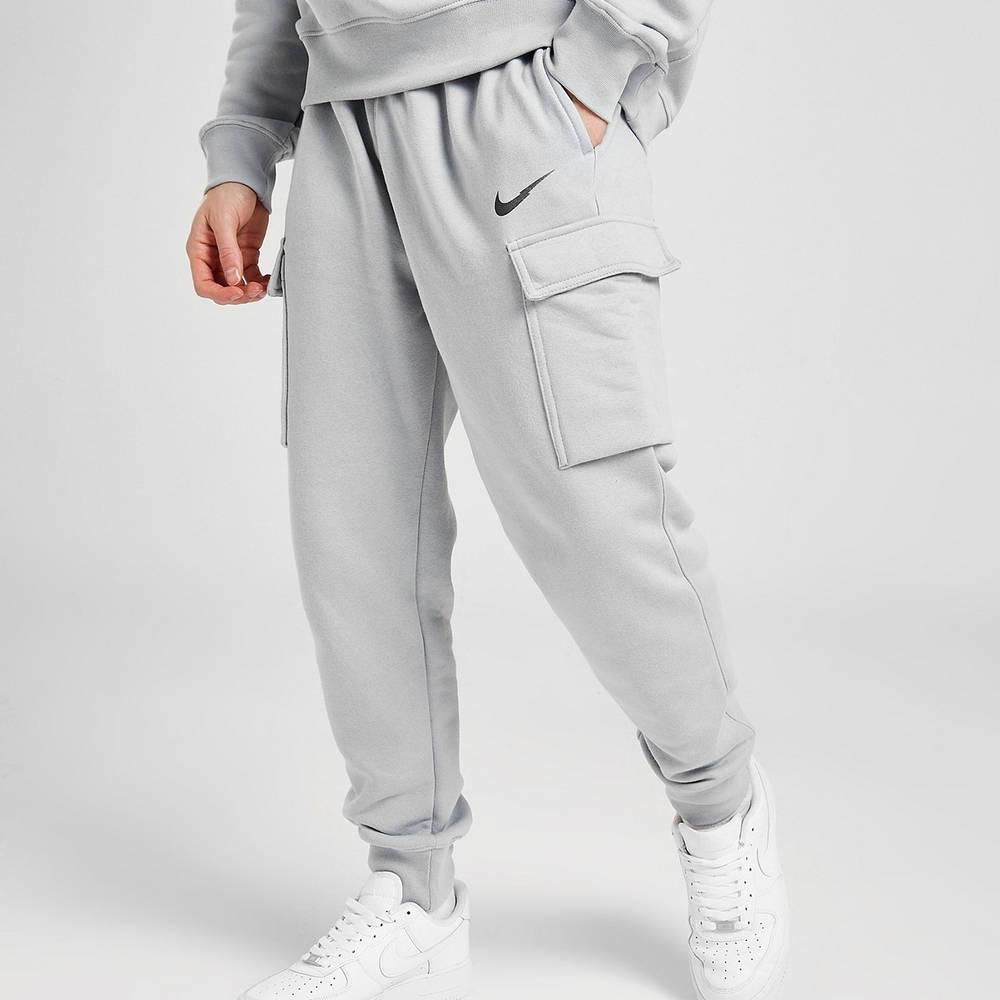Nike Zig Zag Swoosh Cargo Joggers Grey