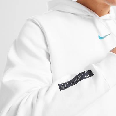 Nike Zig Zag Swoosh Hoodie White Detail 2
