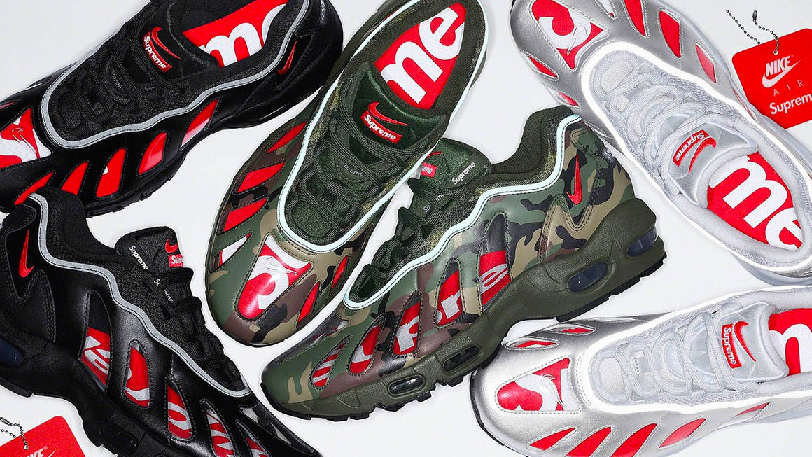 The Supreme x Nike Air Max 96 Spring 2021 Collection is Dropping This Week!