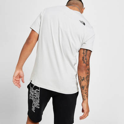 The North Face Central Box Short Sleeve T-Shirt Grey Back