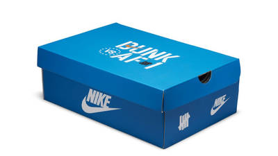 Undefeated x Nike Dunk Low Blue Purple Pack
