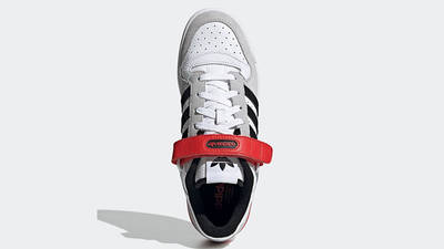 adidas Forum Low White Grey Black Red GY3249 Top