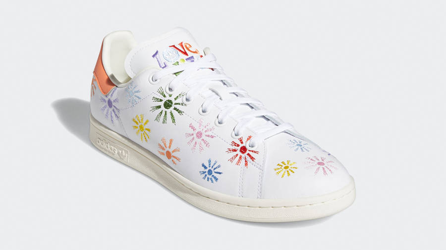 adidas Stan Smith Pride Cloud White Front