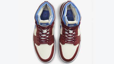 Air Jordan 1 High Zoom Ivory Blue CT0979 001 middle