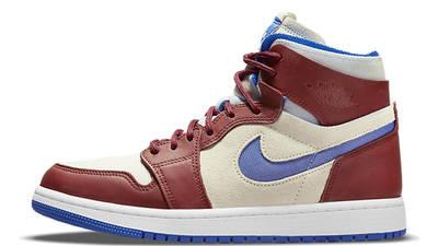 Air Jordan 1 High Zoom Ivory Blue CT0979 001