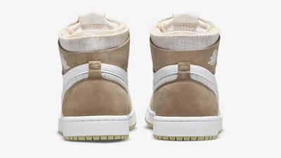 Air Jordan 1 High Zoom White Khaki CT0979-102 back