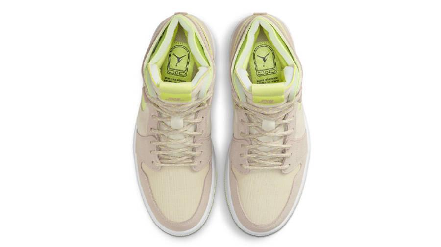 Air Jordan 1 Zoom CMFT Lemon Twist Middle