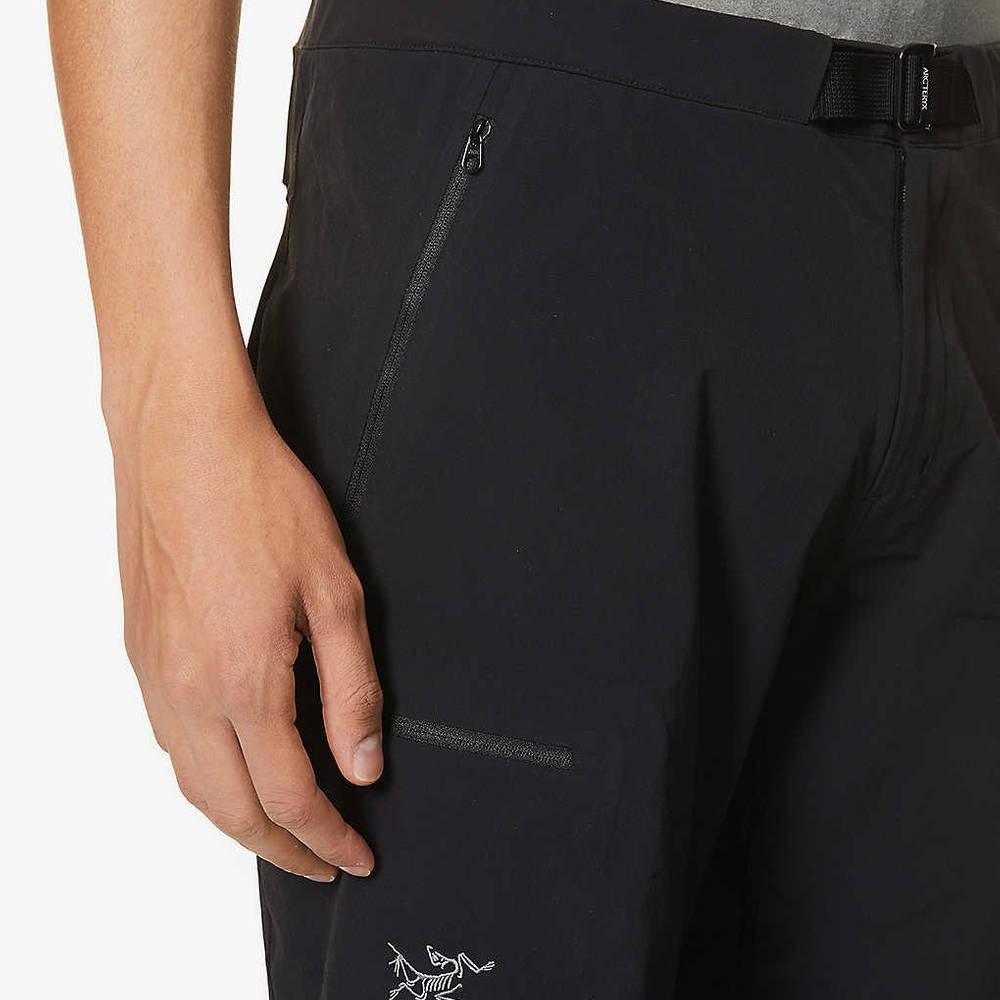 Arc'teryx Gamma LT Shorts Black Detail
