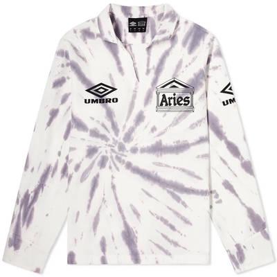 Aries x Umbro Tie Die Pro 64 Pullover Sweatshirt Dusk Spiral