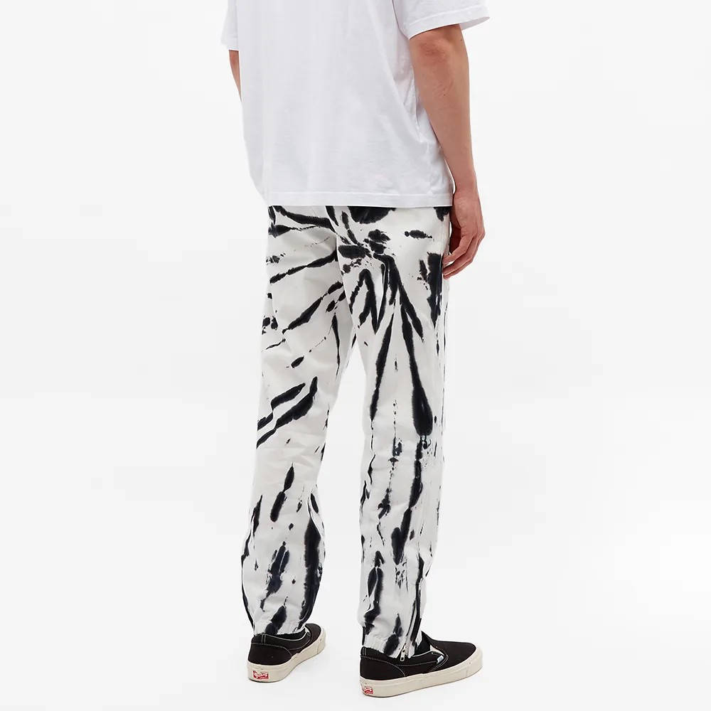 Aries x Umbro Tie Dye Pro 64 Pant Black Spiral Back