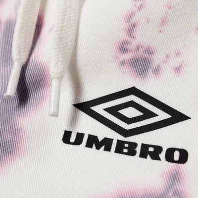 Aries x Umbro Tie Dye Pro 64 Pant Dusk Spiral Detail 2