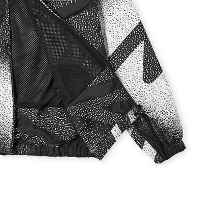 Aries x Umbro Training Jacket Black White Detail
