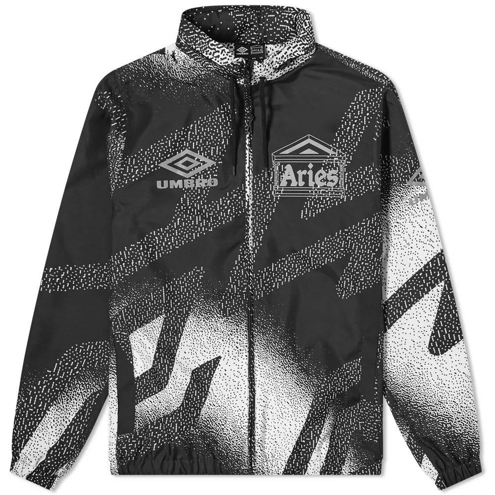 Aries x Umbro Training Jacket Black White