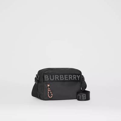Burberry Logo Detail ECONYL Crossbody Bag Black Back