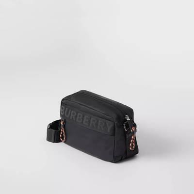 Burberry Logo Detail ECONYL Crossbody Bag Black Side