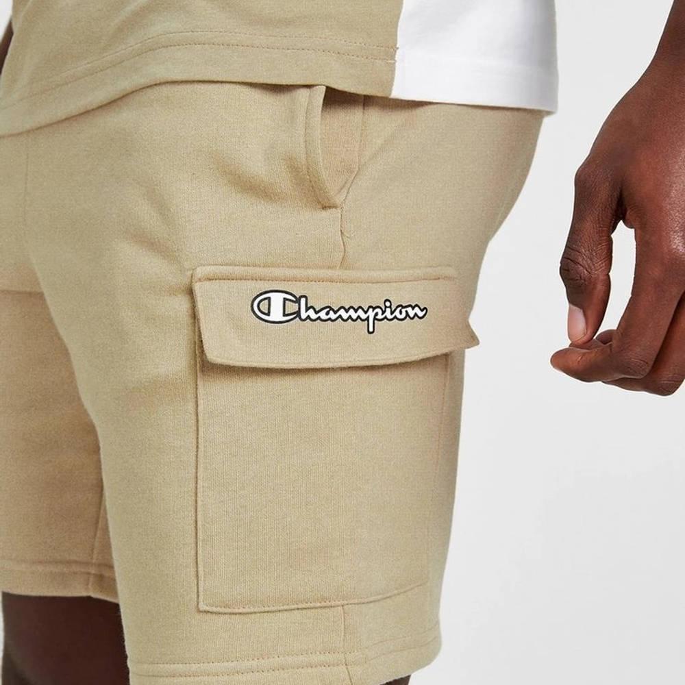 Champion Cargo Shorts Brown Detail