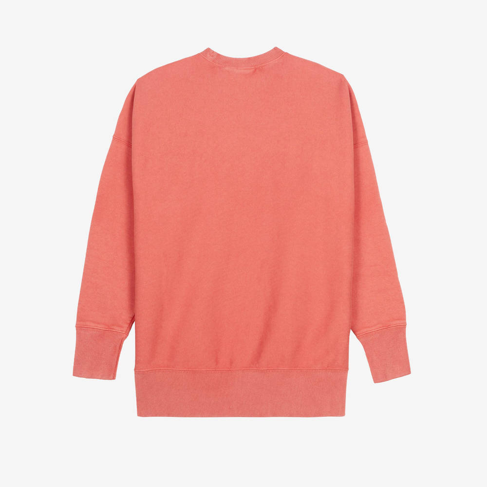 Champion Garment Dye Crew Neck Sweatshirt 214924-CHL Back