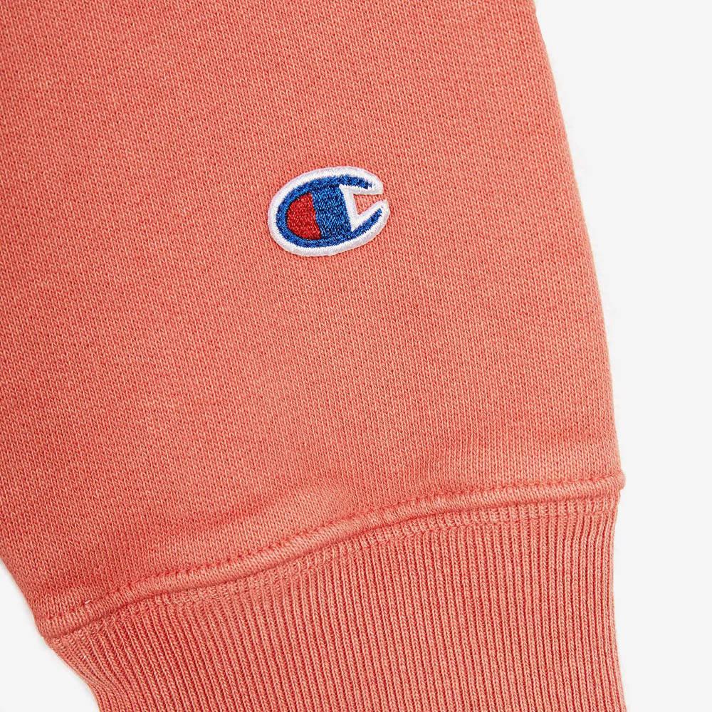 Champion Garment Dye Crew Neck Sweatshirt 214924-CHL Detail 2
