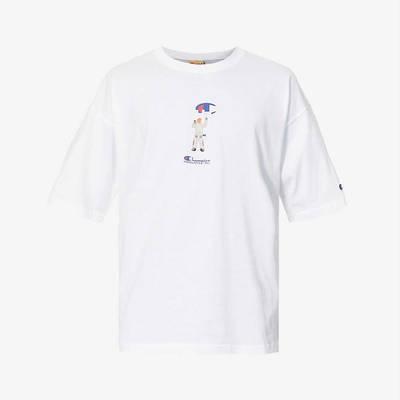 Champion Painter Graphic Print T-Shirt White