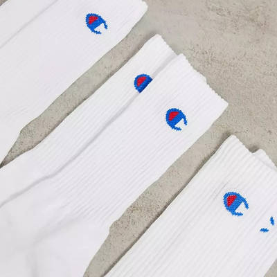 Champion Socks White Detail