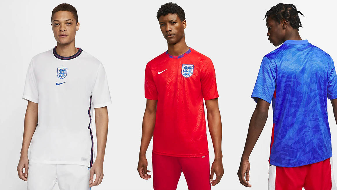 Bring Football Home This Euro 2020 With These Standout Nike England Pieces
