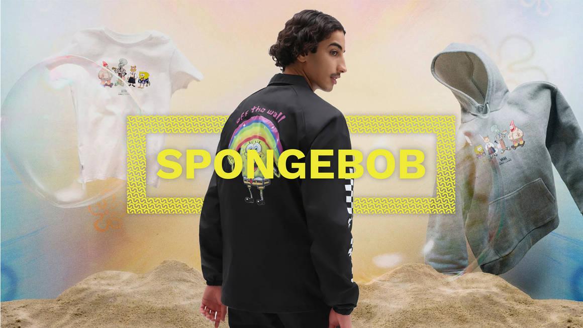 SpongeBob x Vans