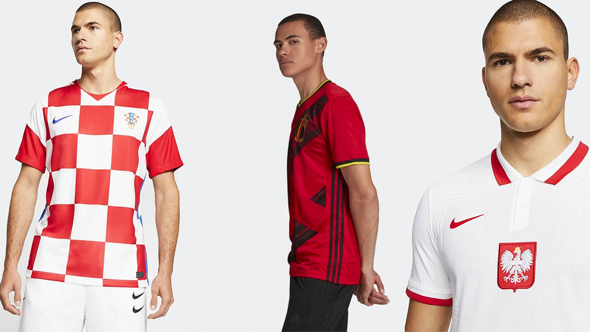 The Top Football Kits Available for Euro 2020