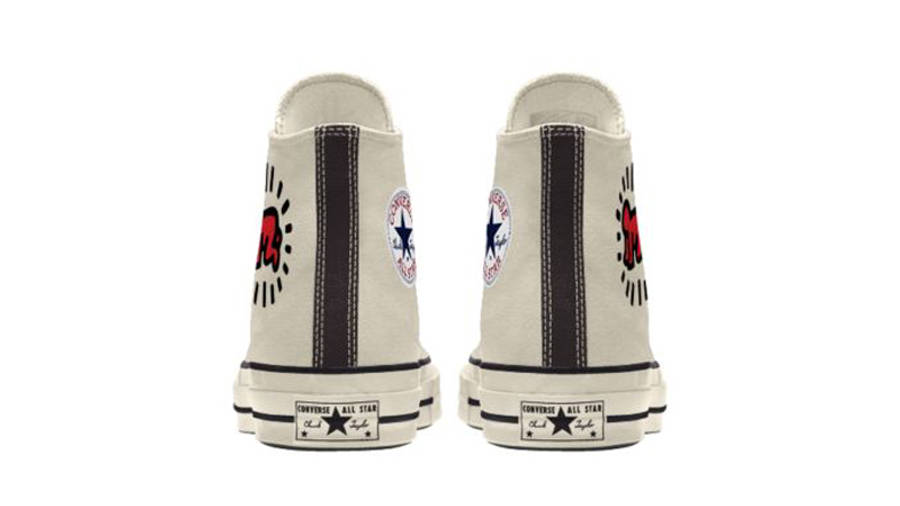Keith Haring x Converse Chuck 70 By You Back