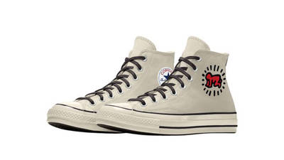 Keith Haring x Converse Chuck 70 By You Front