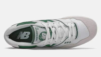 New Balance 550 White Green BB550WT1 middle