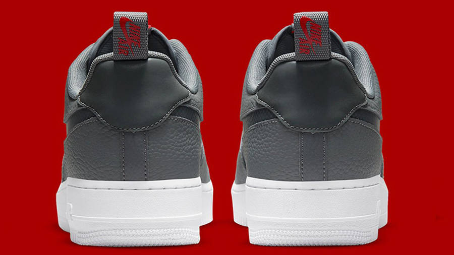 Nike Air Force 1 Grey Red White DN4433-00 back
