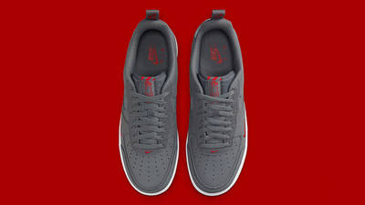 Nike Air Force 1 Grey Red White DN4433-00 middle