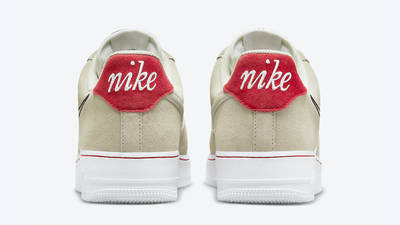 Nike Air Force 1 Low First Use Light Stone Back