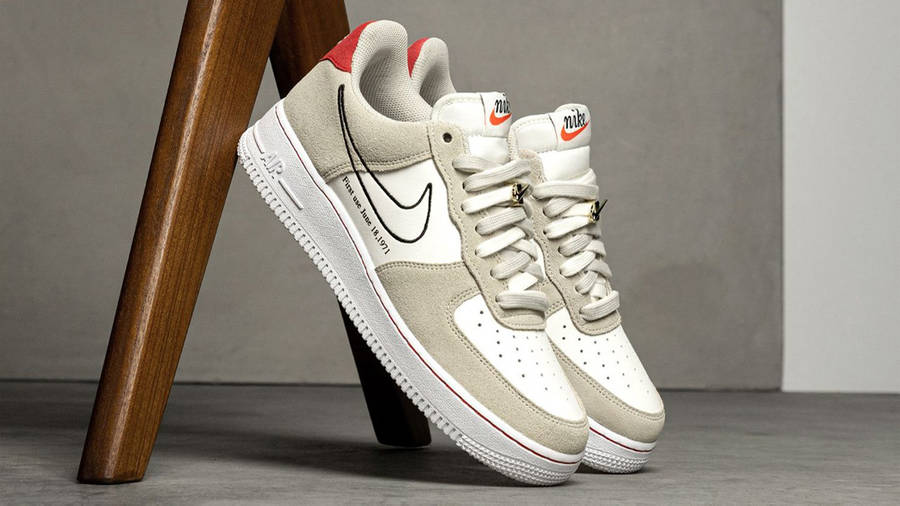 Nike Air Force 1 Low First Use Light Stone First Look
