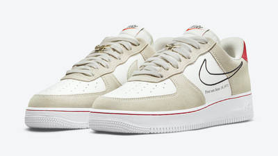 Nike Air Force 1 Low First Use Light Stone Front