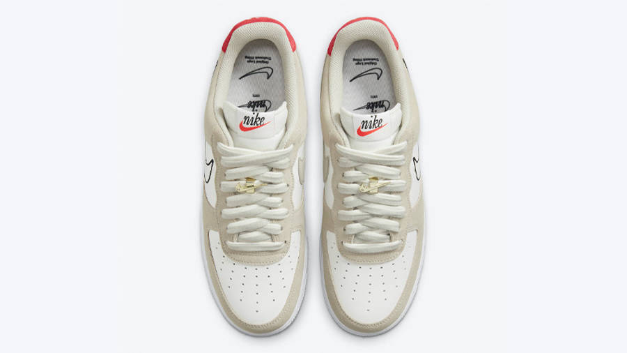 Nike Air Force 1 Low First Use Light Stone Middle