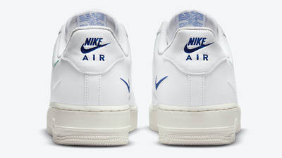 Nike Air Force 1 Low Multi Swoosh White Blue Back