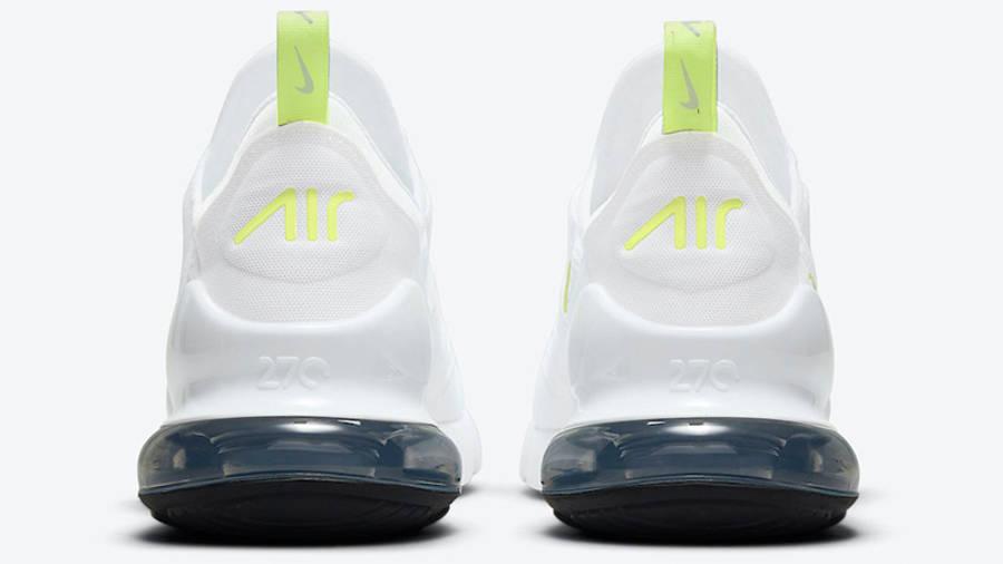 Nike Air Max 270 White Volt DN4922-100 BACK