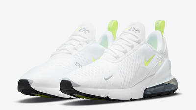 Nike Air Max 270 White Volt DN4922-100 front