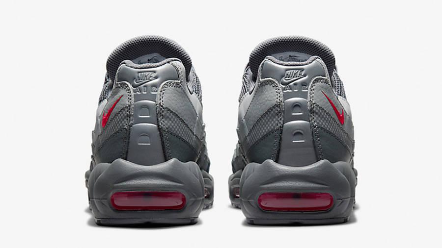 Nike Air Max 95 Smoke Grey Red DM9104-002 back