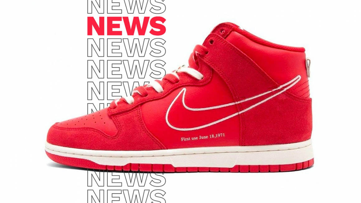 nike dunk hugh first use red