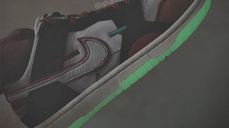Nike Dunk Low Scrap Glow First Look In Dark