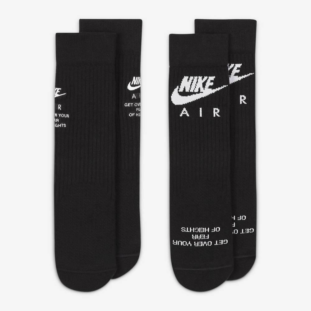 Nike SNEAKR Sox Crew Socks DA2584-010 Detail