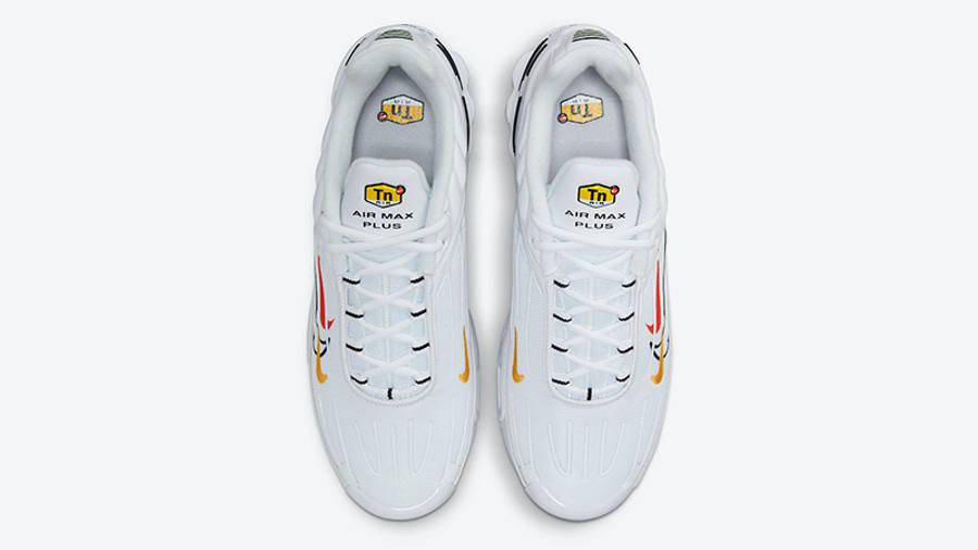 Nike TN Air Max Plus 3 Multi Swoosh White DN6993-100 middle