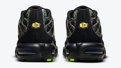 Nike TN Air Max Plus Black Green Back